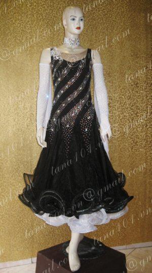 Váy khiêu vũ ballroom đen