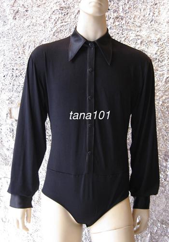 Áo latin nam màu đen