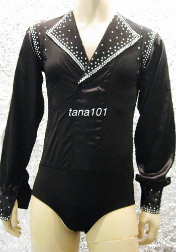 áo nhảy khiêu vũ đen