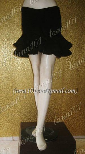 chân váy tập khiêu vũ đen