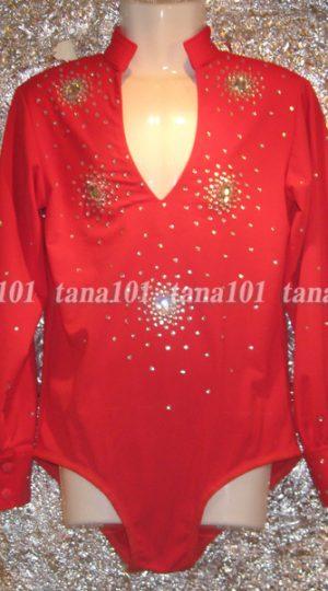 áo nhảy khiêu vũ đỏ