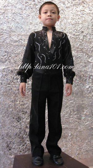 Áo khiêu vũ đen