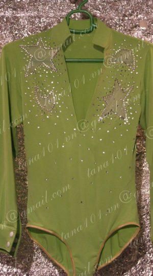 Áo khiêu vũ xanh lá
