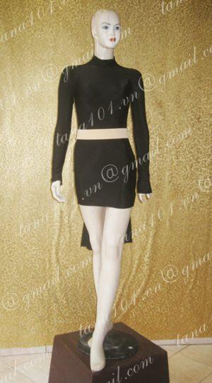 váy khiêu vũ đen