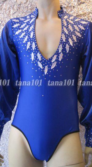 áo nhảy khiêu vũ xanh
