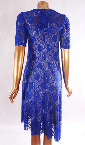 Váy tập xanh dương