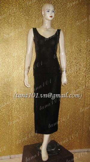 váy dạ hội đen