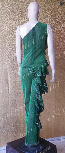 Quần áo tập xanh lá