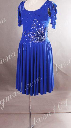 váy khiêu vũ xanh