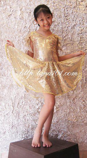 váy khiêu vũ ánh đồng