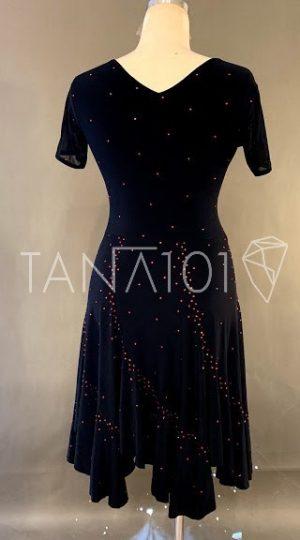 Váy nhảy latin màu đen