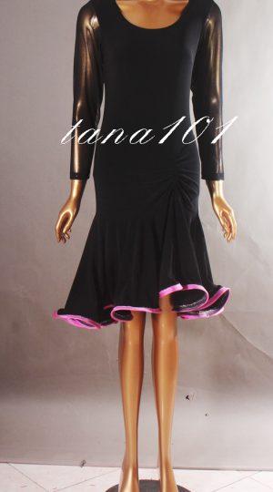 váy tập đen