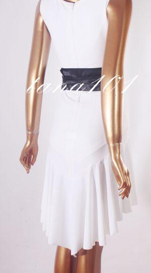váy tập nhảy trắng
