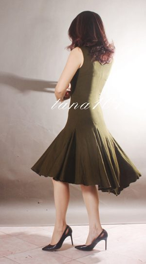 Váy tập nhảy màu rêu