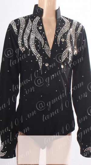 áo khiêu vũ bé trai đen