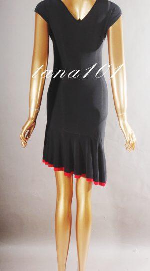 váy tập đen đỏ
