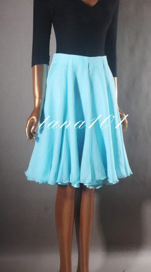 váy tập đen xanh