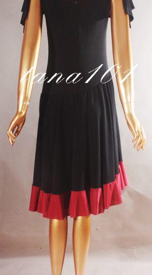 Váy dạ hội đen đỏ