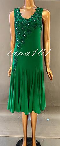 Váy dạ hội xanh lá