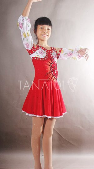 váy latin bé gái