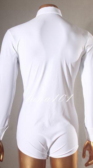 Áo latin nam màu trắng
