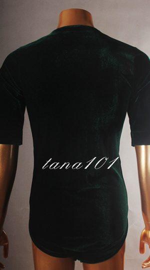 Áo latin nam màu xanh rêu
