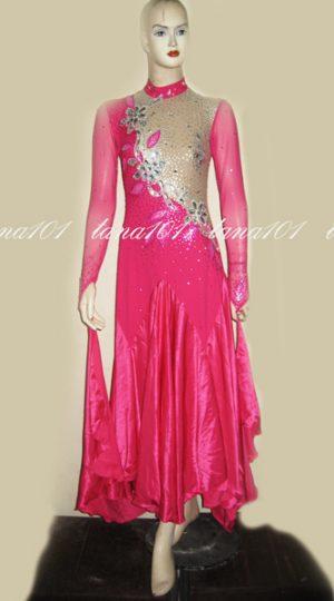 Váy standard hồng