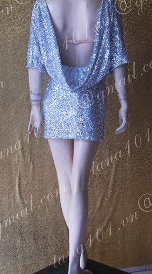 Váy kim sa bạc