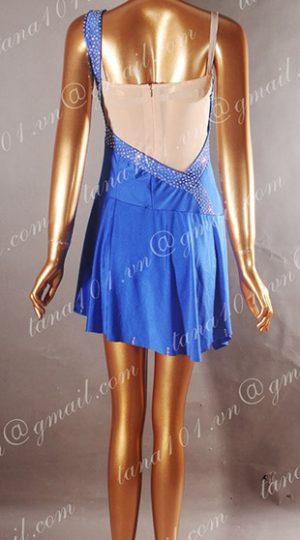 Váy latin xanh